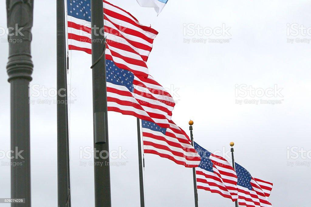 American Flaggen – Foto