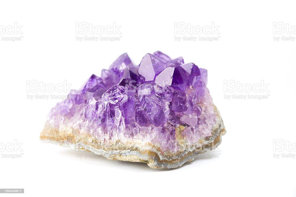amesthyst stone royalty-free stock photo