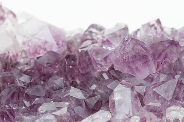 Amethyst Geode stock photo