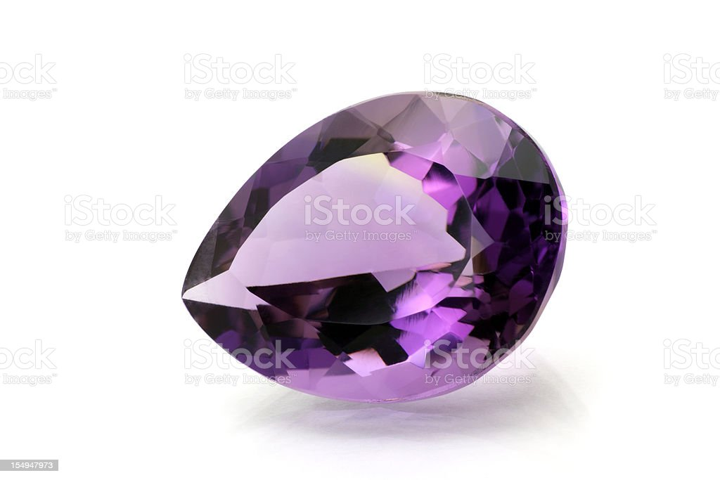 Amethyst royalty-free stock photo