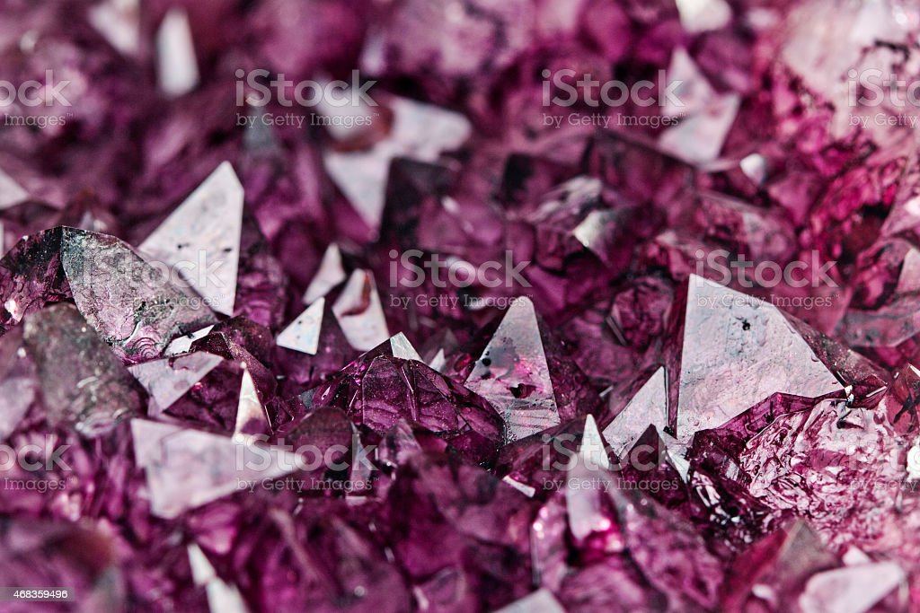 amethyst quartz royalty-free stock photo