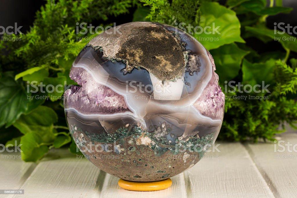 Amethyst Sphere stock photo