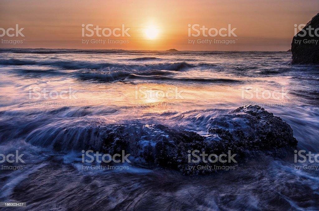 Amethyst Tide stock photo