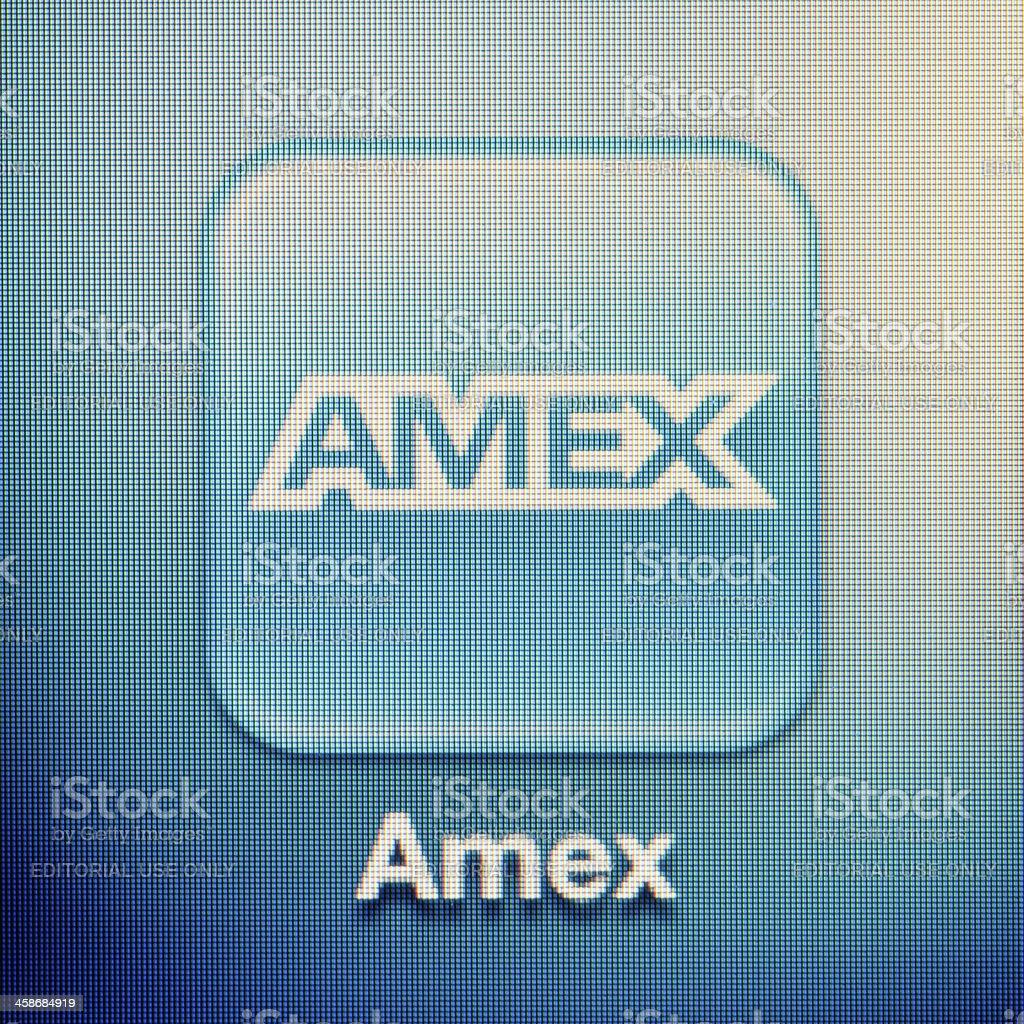 Amex - foto de stock