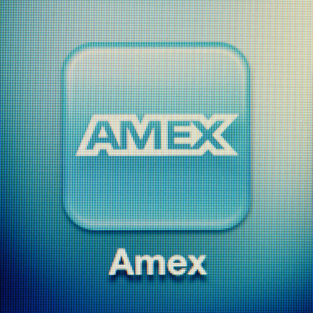 Amex stock photo