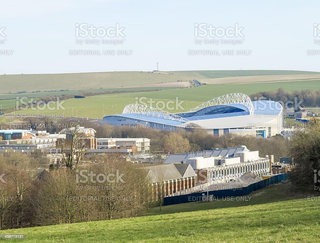 Amex Stadium Brighton and Sussex University stock photo