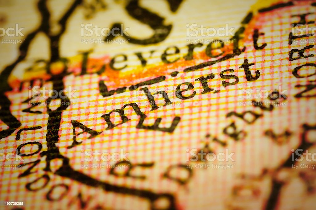 Amherst, Massachusets on an Antique map stock photo