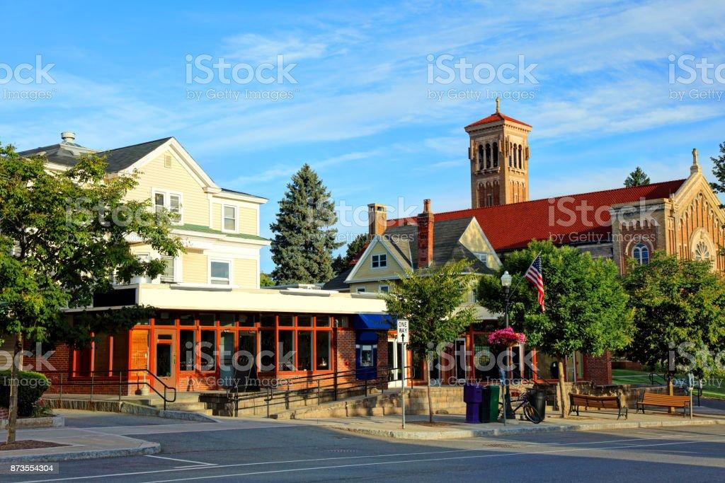 Amherst, Massachusetts stock photo