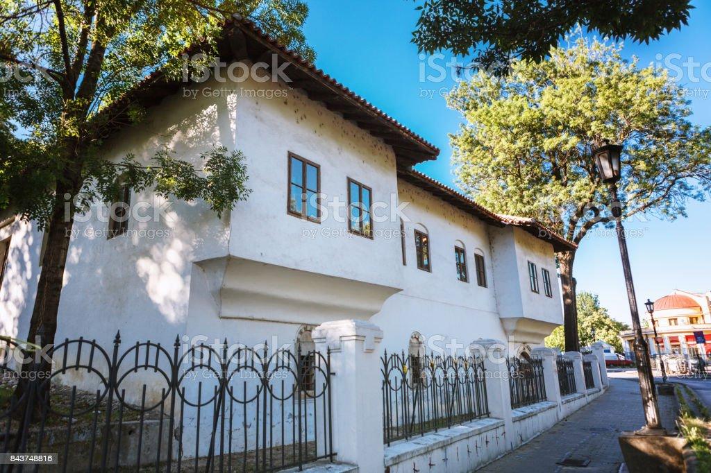 Amidza's residence in Kraguevac, Serbia stock photo