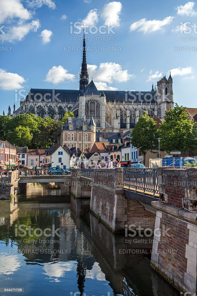 Amiens - France stock photo