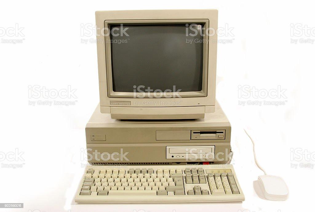 Amiga 2000 Computer royalty-free stock photo