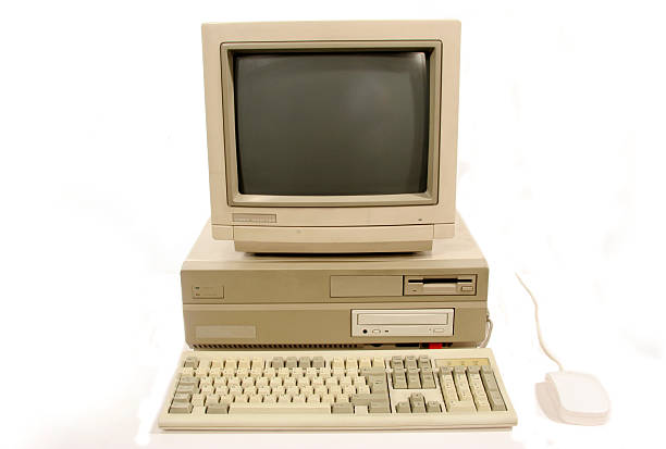Amiga 2000 Computer stock photo