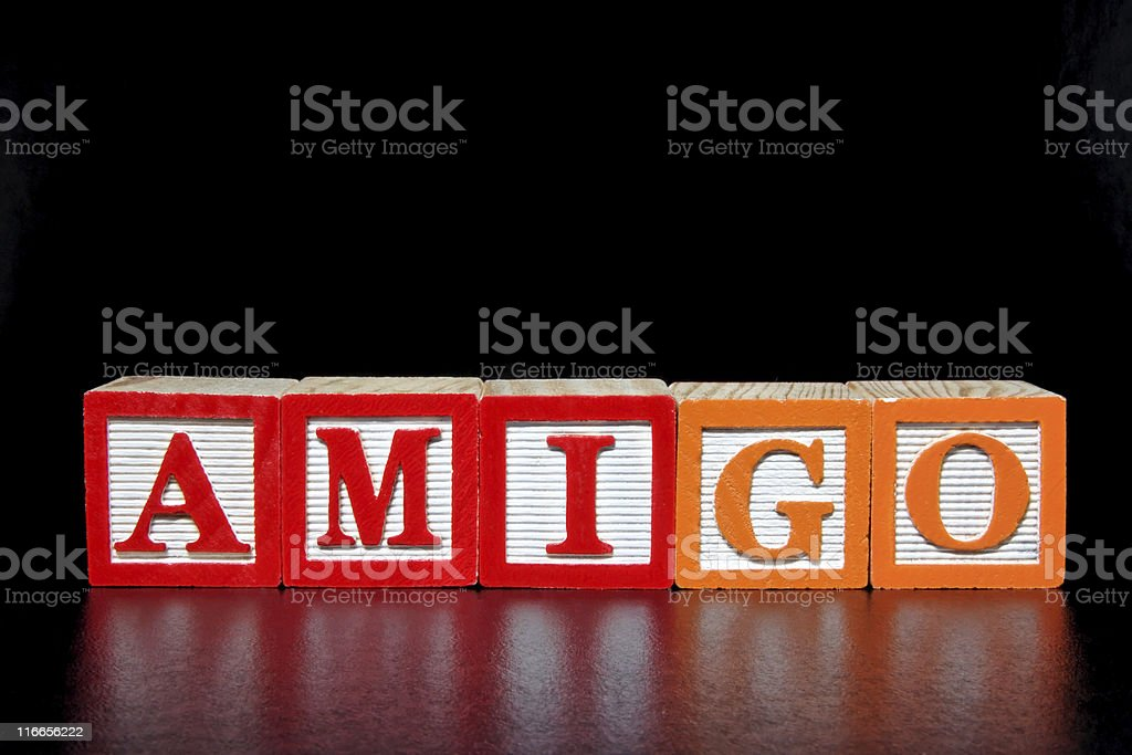 Amigo royalty-free stock photo