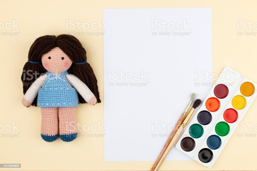 Artesanatos: Faça e Venda: Como colocar cabelo em boneca amigurumi?   682x1024