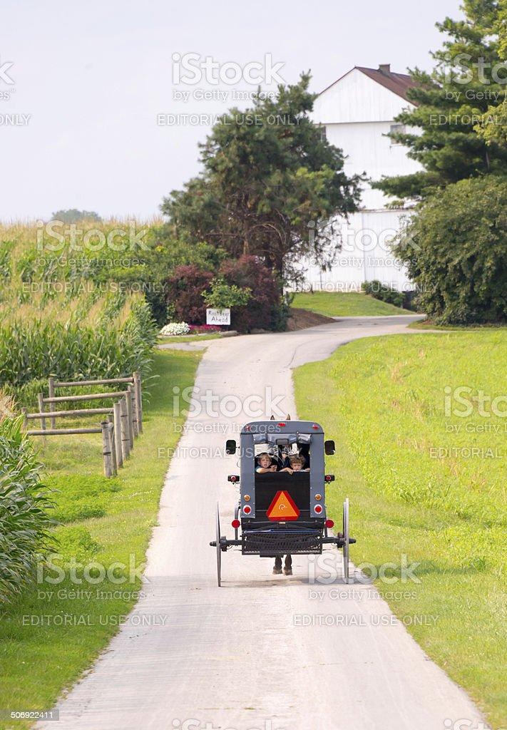 Amish Land stock photo