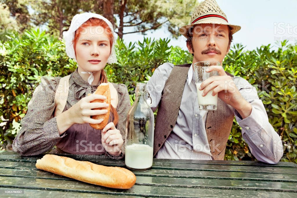 Amish lifestyle stock photo