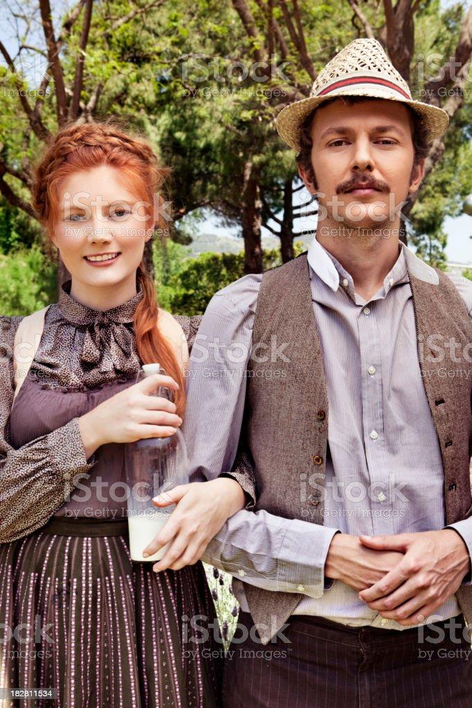 Amish lifestyle stock photo