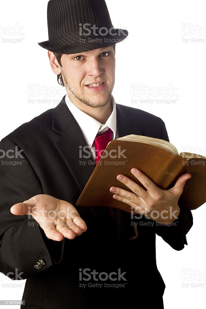 Amish Man stock photo
