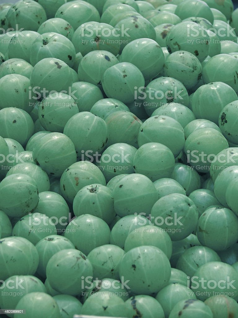 Amla, Emblica officinalis, Indian Gooseberries royalty-free stock photo
