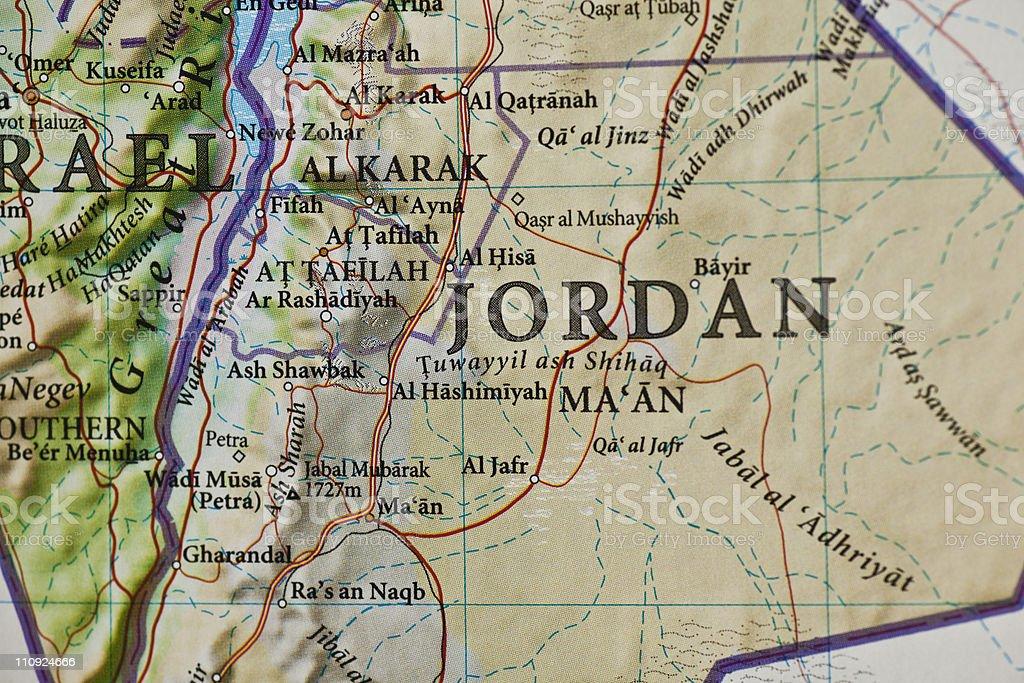 Jordanien Karte.Amman Jordanien Karte Stockfoto Und Mehr Bilder Von Al Karak Istock