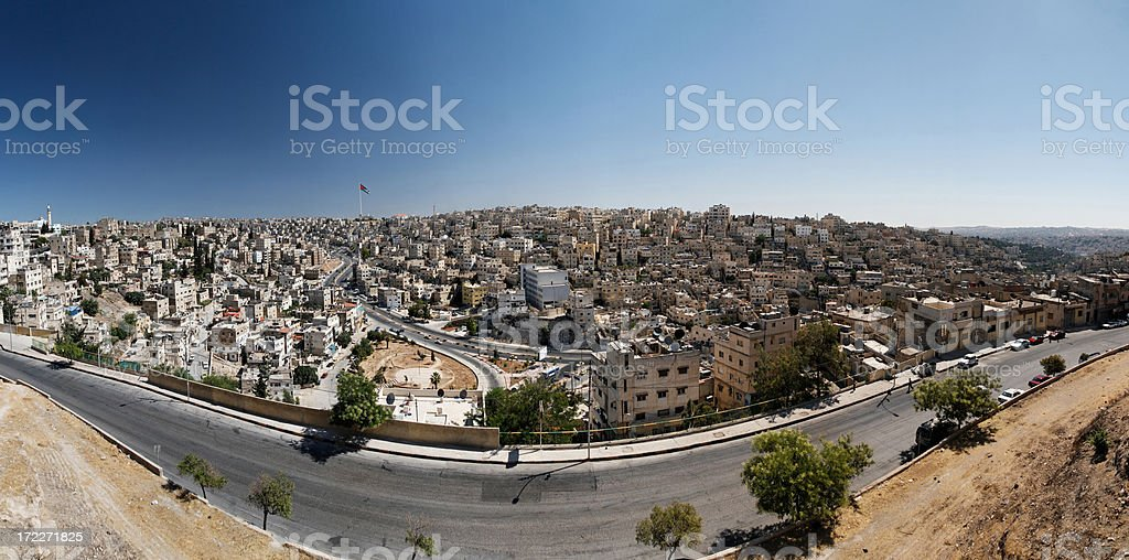 Amman, Jordan royalty-free stock photo