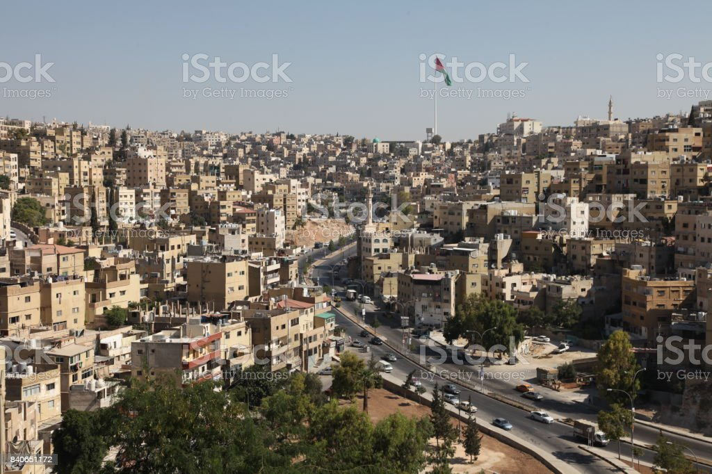 Amman, Jordan stock photo