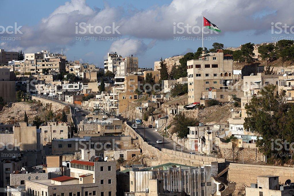 Amman, Jordanie royalty-free stock photo