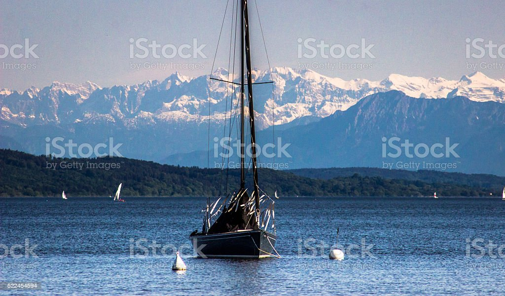 Ammersee stock photo