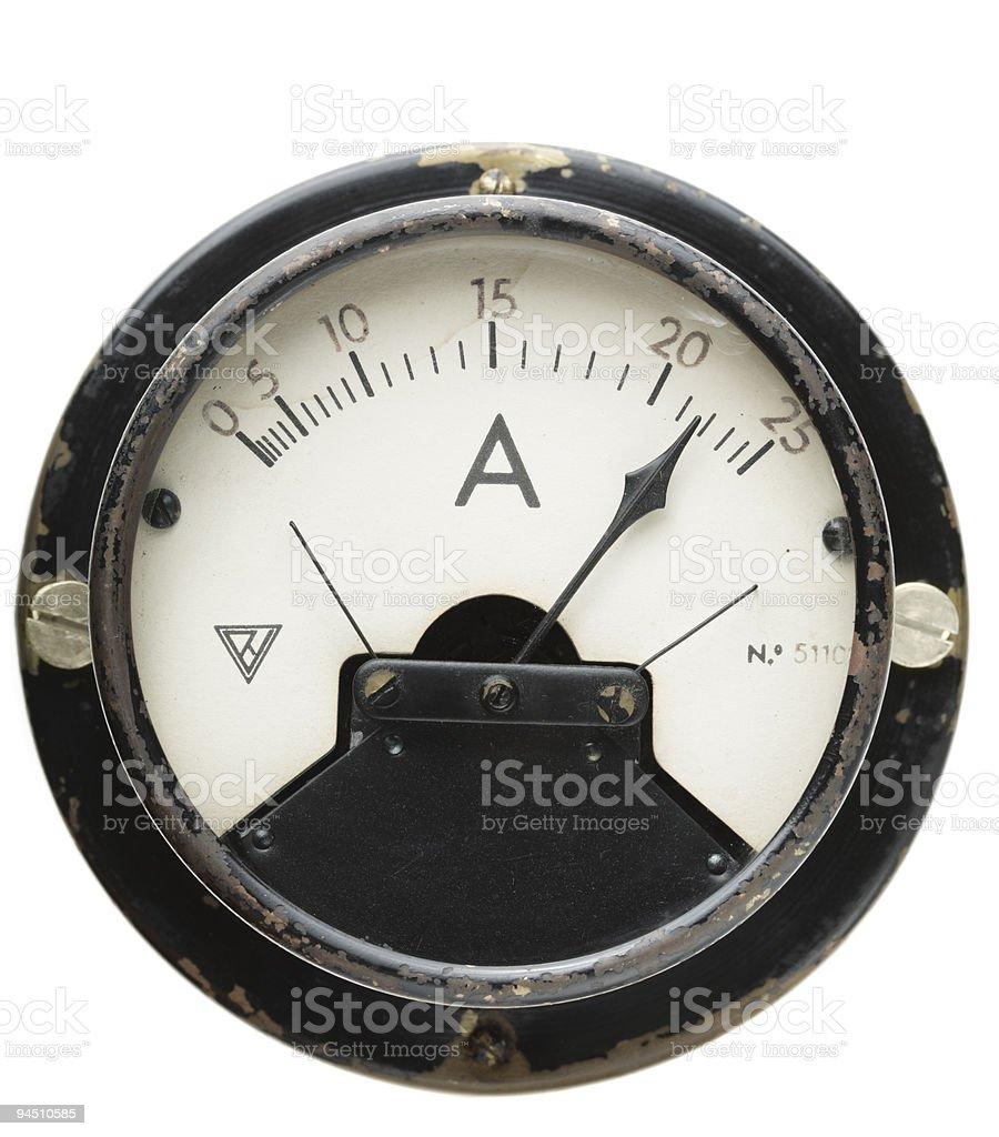 ammeter stock photo