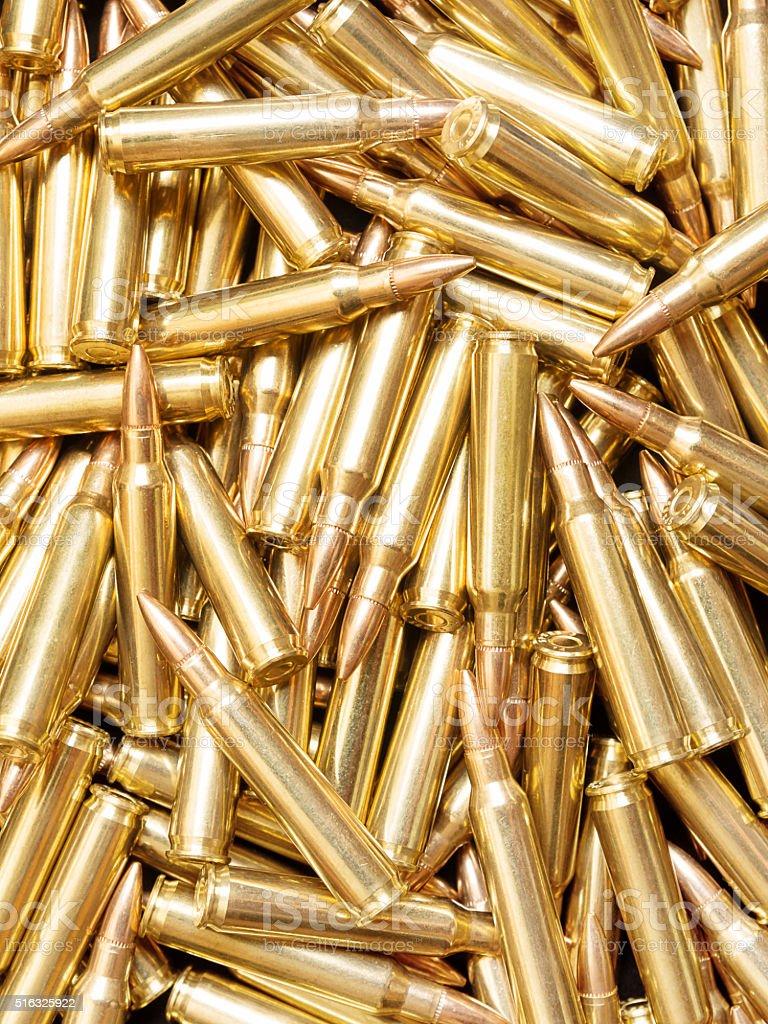 Ammo background stock photo