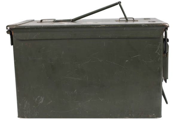 Ammo Can stock photo