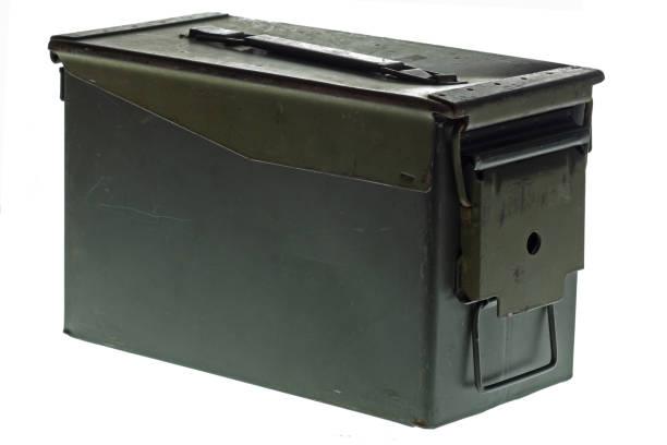 Ammo Crate stock photo
