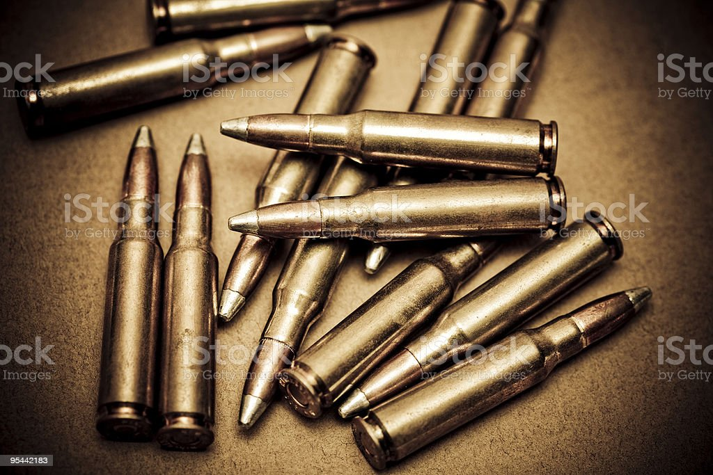 Ammo royalty-free stock photo