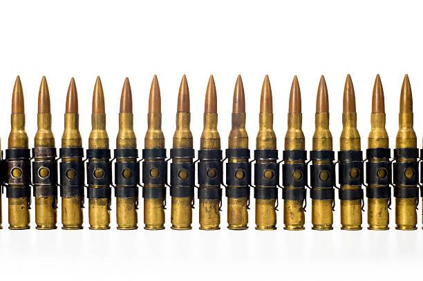 Ammunition  Belt stock photo