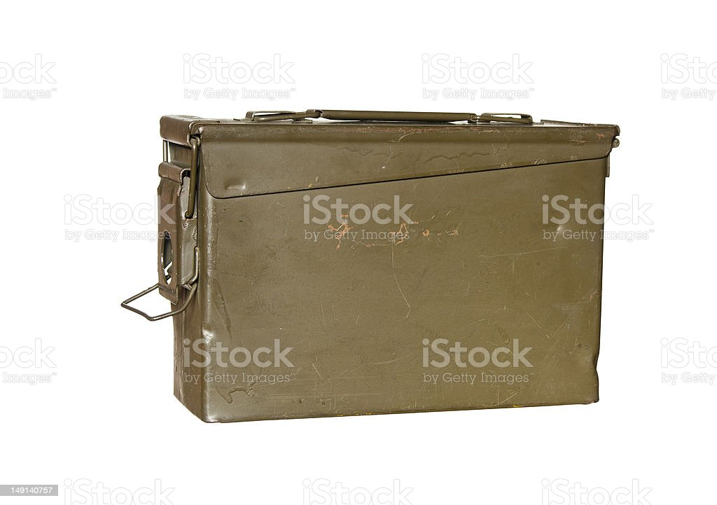 ammunition can stock photo