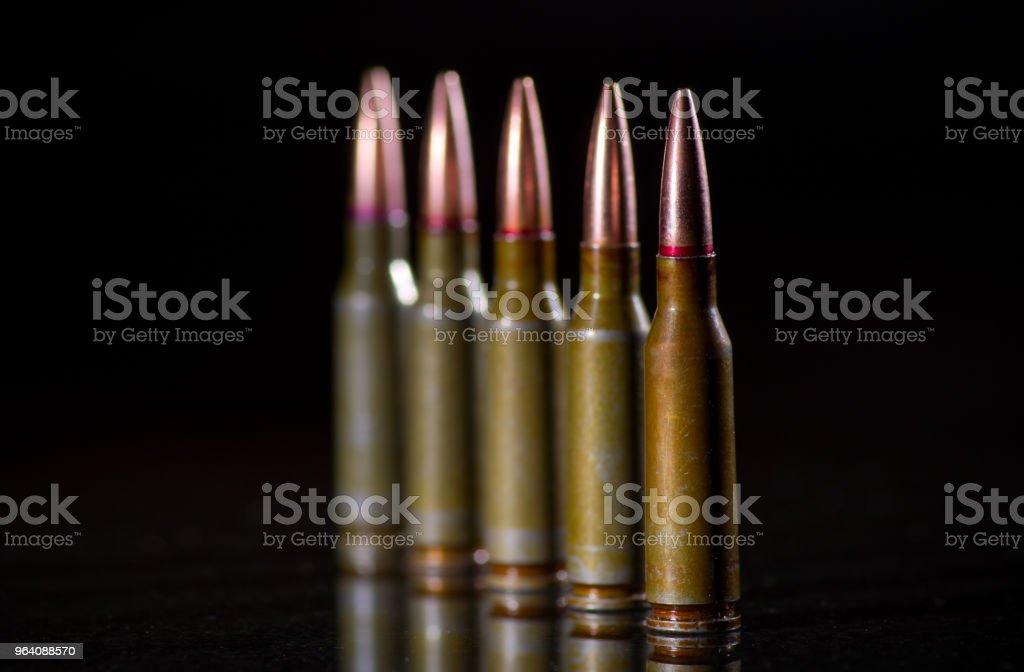 弾薬カートリッジ - クローズアップのロイヤリティフリーストックフォト