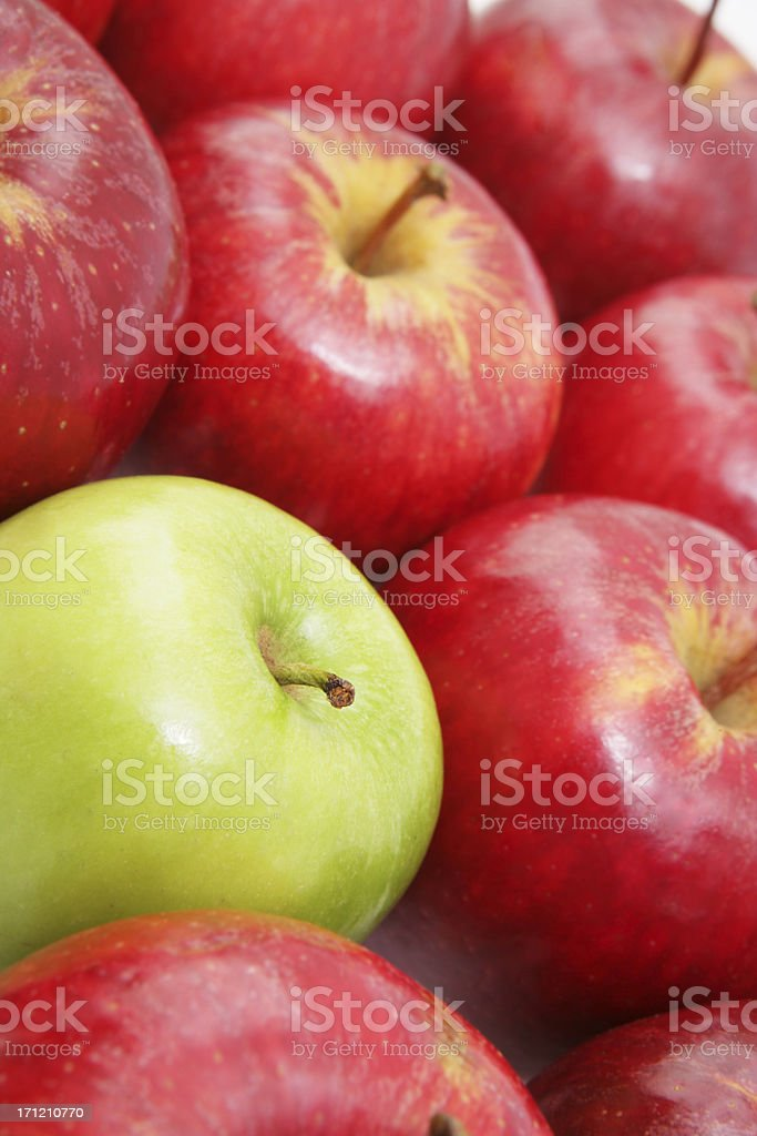 Among the others royalty-free stock photo
