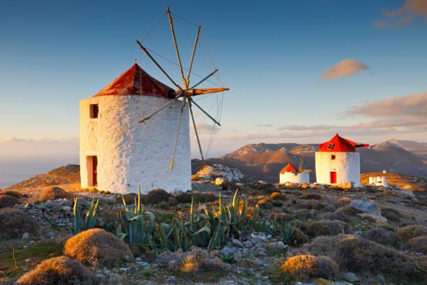 Amorgos, Greece. stock photo