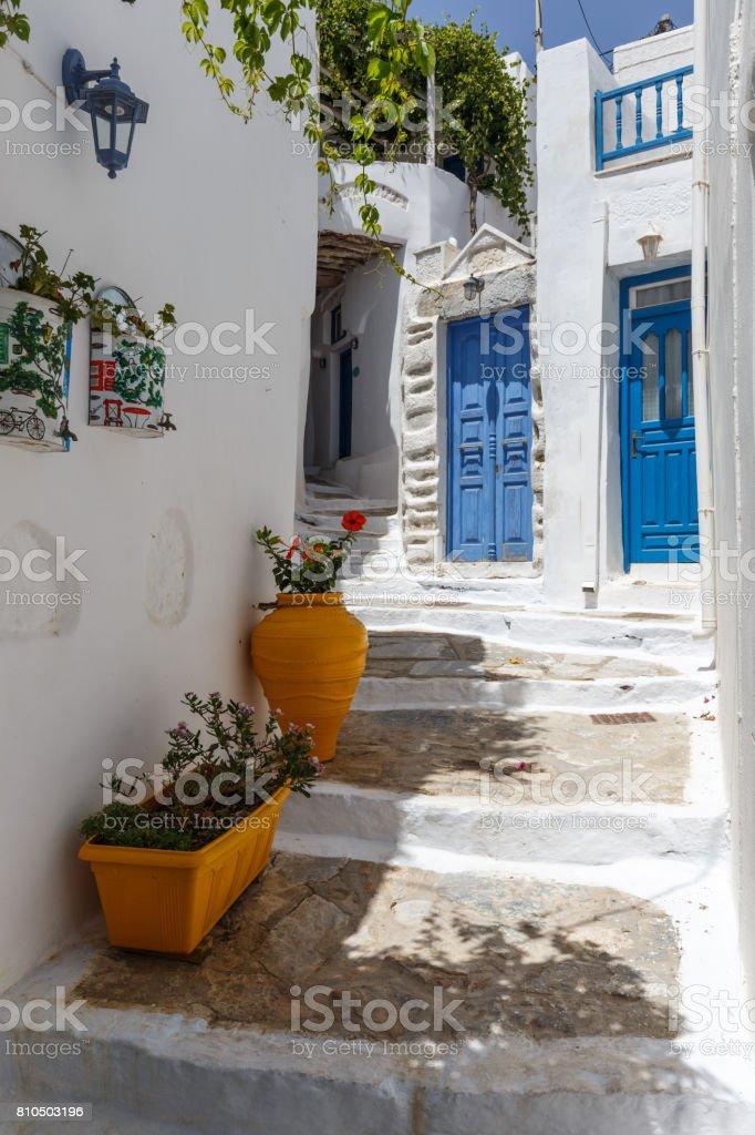 Amorgos stock photo