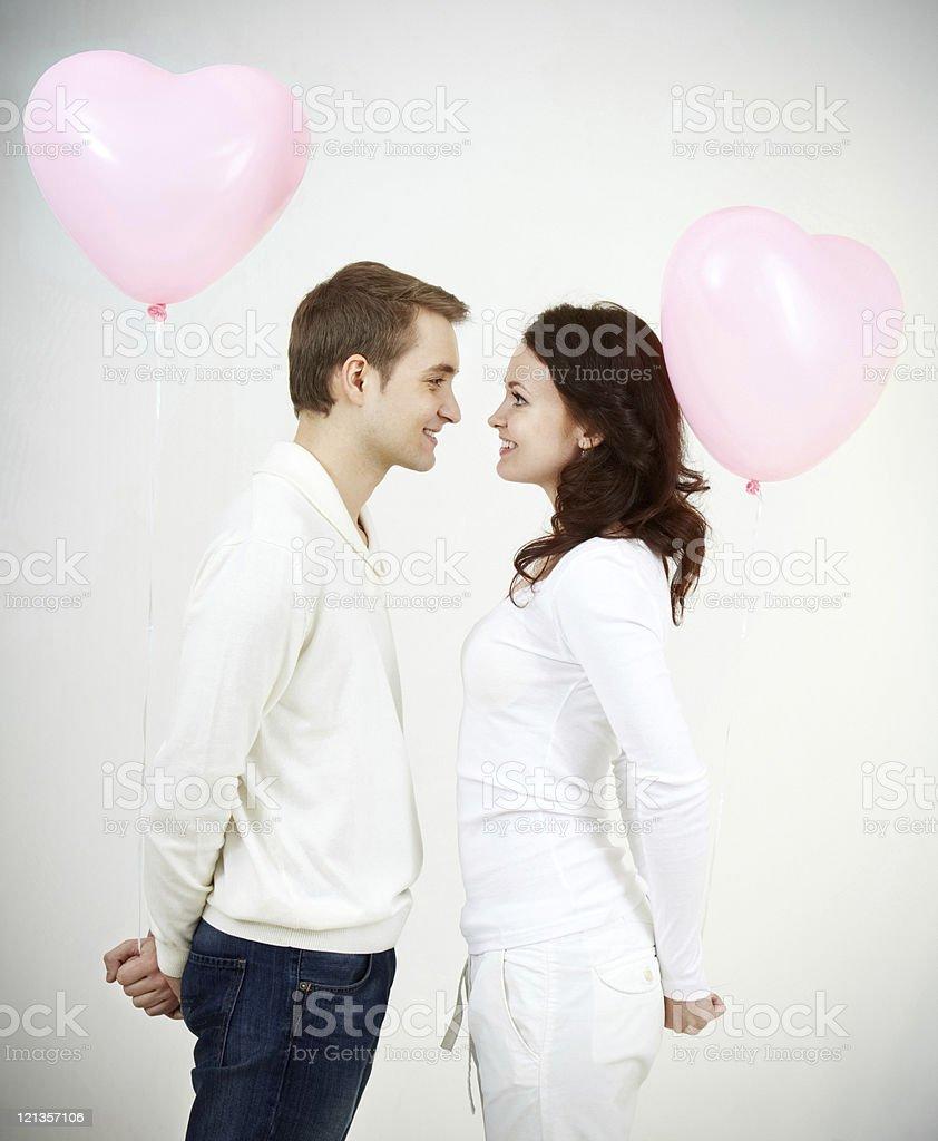 Amorousness stock photo