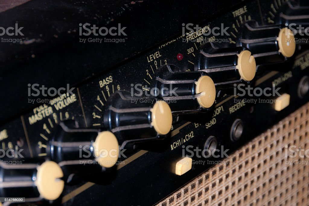 Gitar Amp stock photo