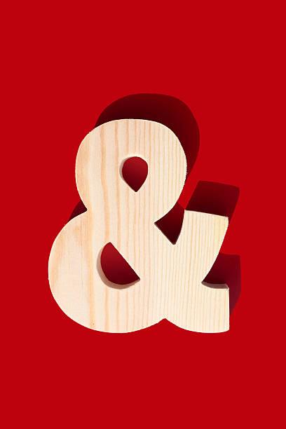 Ampersand - & stock photo