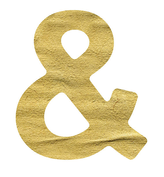 ampersand symbol - ampersand stock pictures, royalty-free photos & images