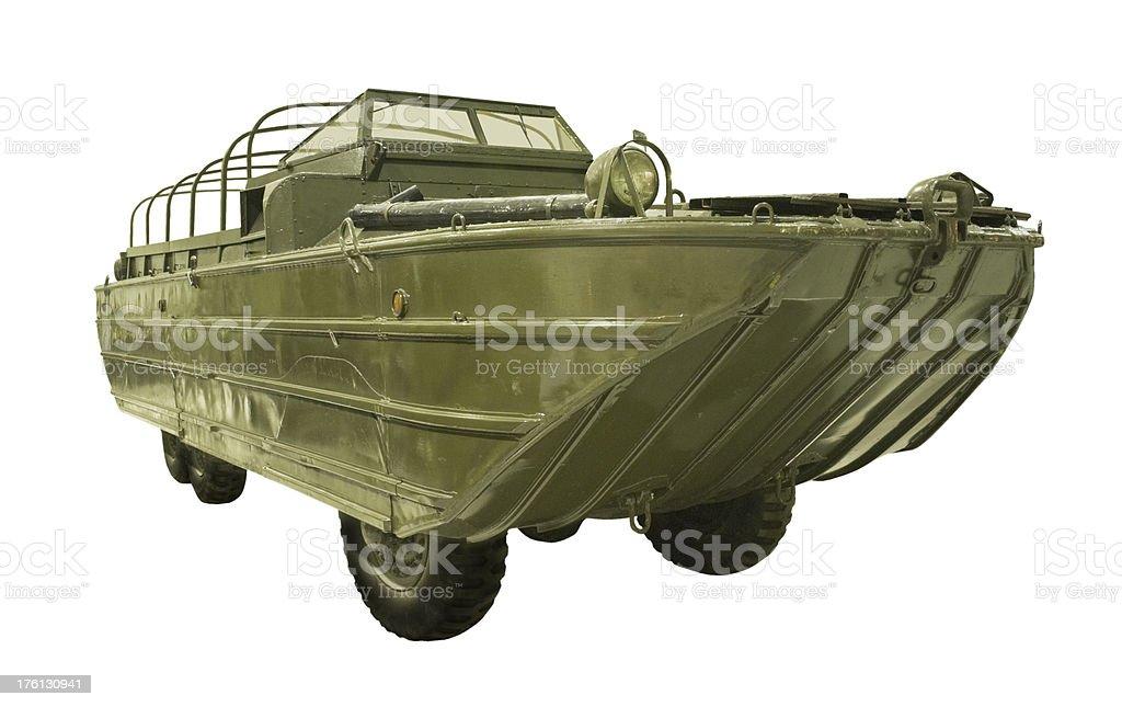 Amphibious Truck stock photo