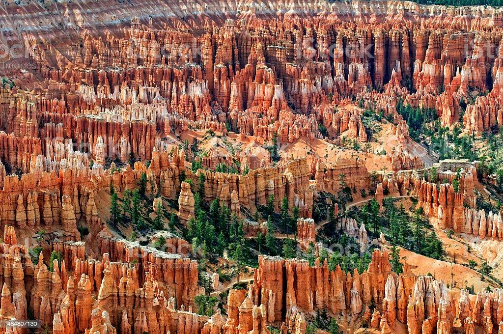 Amphitheater im Bryce-Canyon – Foto