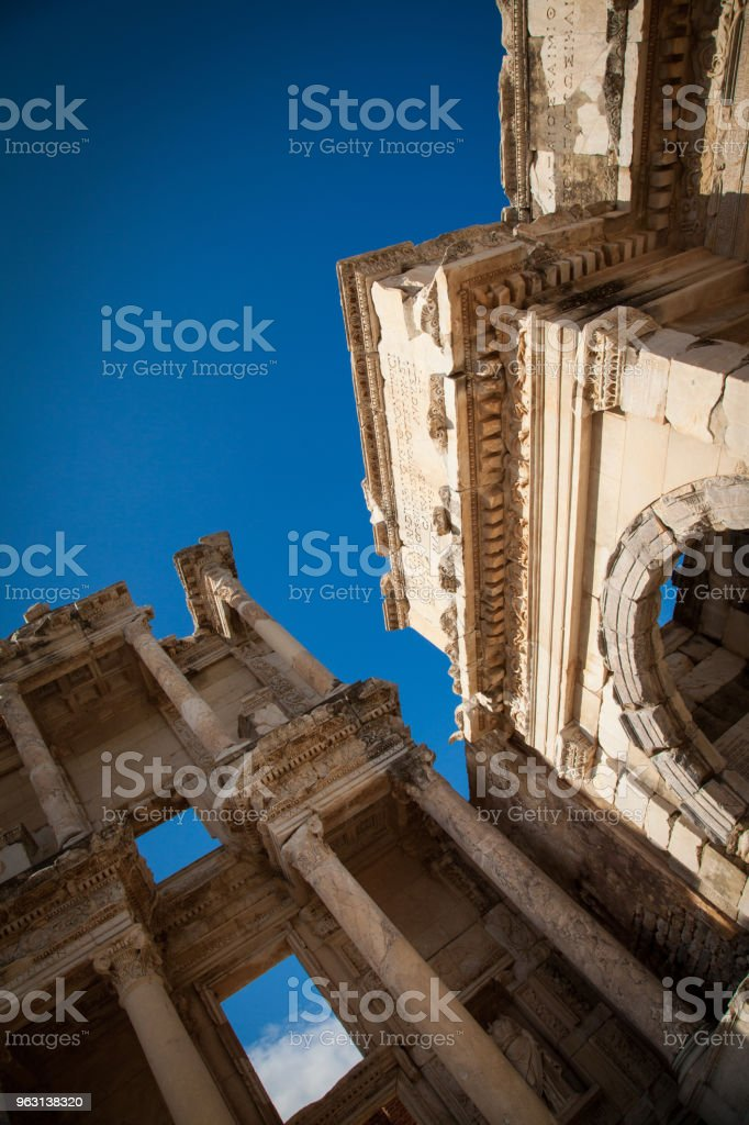 Amfiteater (Colosseum) i Ephesus (Efes) Turkiet, Asien - Royaltyfri Amfiteater Bildbanksbilder
