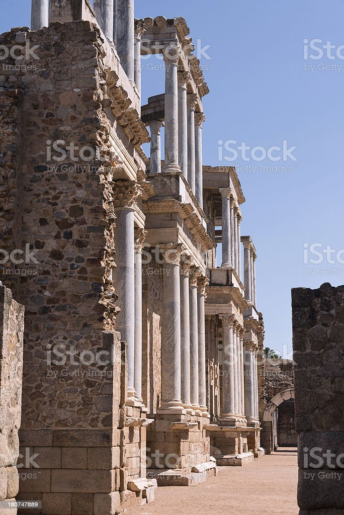 Amphitheater royalty-free stock photo