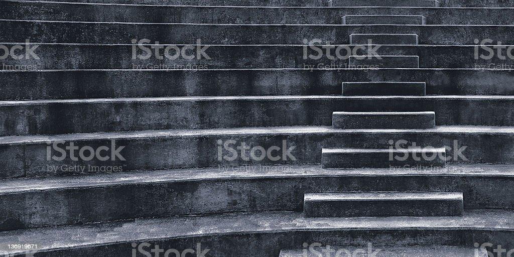 amphitheater staircase royalty-free stock photo