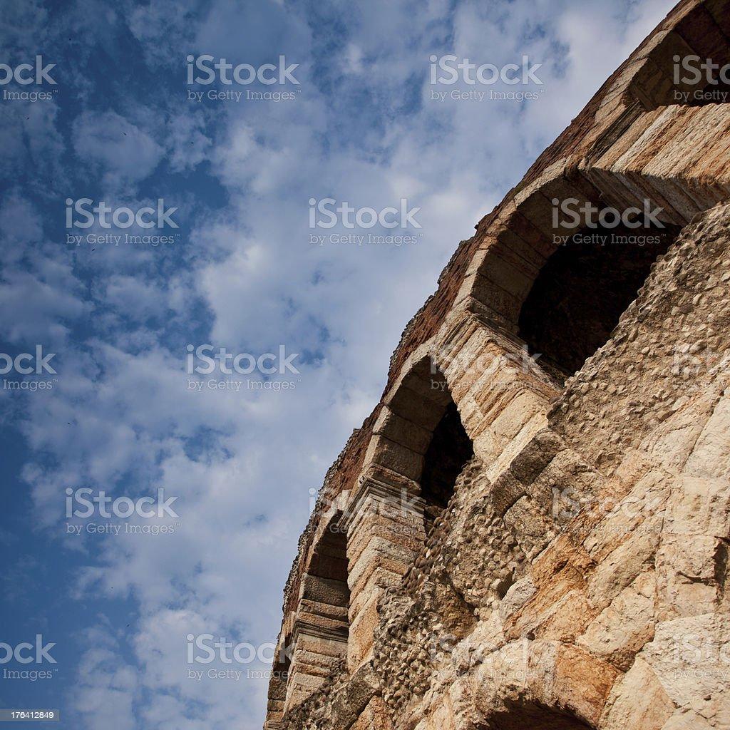 amphitheatre Arena in Verona, Italy royalty-free stock photo
