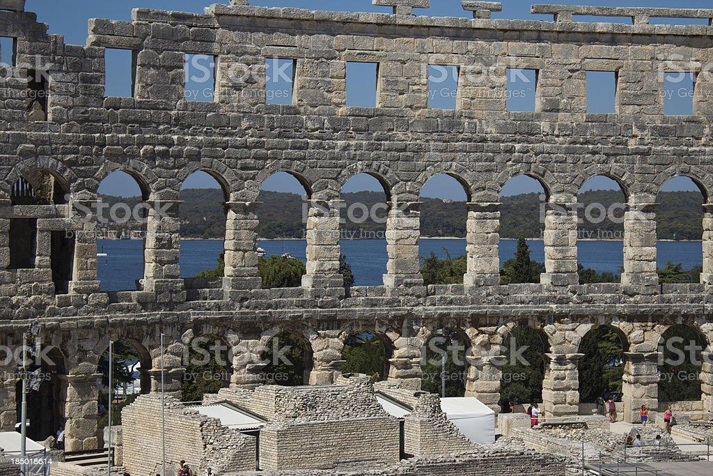 Amphitheatrum stock photo